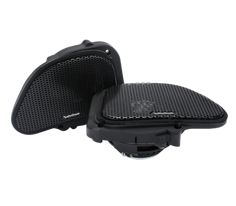 Power 6.5″ Full Range Fairing Speakers '98-'13 Harley-Davidson® Road Glide®  The TMS6RG is a full range coaxial speaker designed to fit the fairing speaker locations of the 1998 – 2013 model year Harley-Davison® Road Glide® Motorcycles. It features a Neodymium motor structure driving a co-molded, reinforced polypropylene cone with Santoprene surround. It also features an ultra-efficient 25mm dome tweeter with integrated phase plug and is made water/weather resistant with the addition of a…
