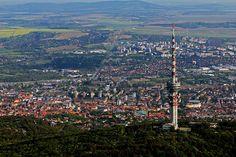 Pécs Travel Around The World, Around The Worlds, Danube River, Central Europe, Cn Tower, Hungary, Budapest, Croatia, San Francisco Skyline