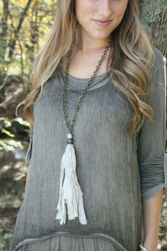Simple and pretty necklace