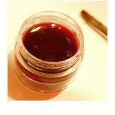 DIY lip tint made from beets - no lead or chemicals here!
