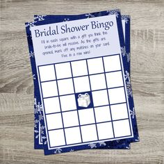 Bridal Shower Bingo INSTANT DOWNLOAD DIY by PurpleConfettiPapers, $5.00