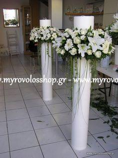 Λαμπαδες Γαμου_54 Greek Wedding, Our Wedding, Church Wedding Decorations, Table Decorations, Orthodox Wedding, New Things To Try, Unique Weddings, Wedding Inspiration, Wedding Ideas
