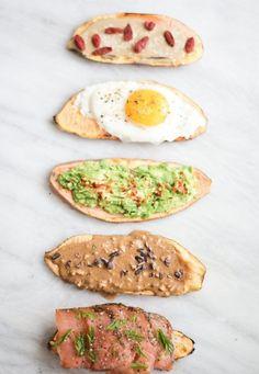 How to Make Sweet Potato Toast 5 Ways | Nutrition Stripped