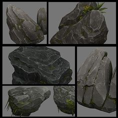 3DOcean Rocks Collection 6294285