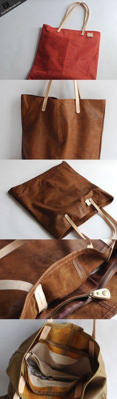 Handmade fashion pretty leather small tote bag shoulder bag handbag fo   EverHandmade