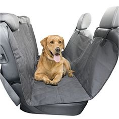 Heavy Duty Quilted Pet Dog Rear Seat Cover For Dacia Sandero 2013 On