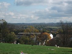 Perkasie PA, As Viewed From Cemetery Hill (Trinity Lutheran Cemetery) by rustyrust1996, via Flickr