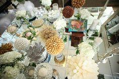 Persian wedding spread.