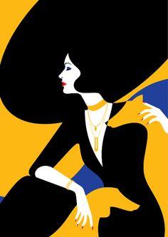 Malika Favre voor Vanity Fair