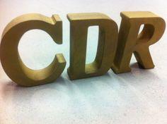 Kunststof Letter Met Een Corten Staal Finish  Metalfinish Letters