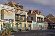 Rua da Praia, Mindelo, São Vicente.  Foto: ©2006 Francisco Santos