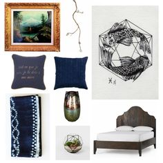 A Bedroom Inspired By The Zodiac Sign Pisces.