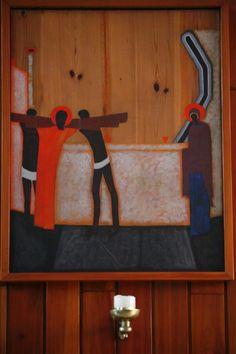 Stacja IV - Jezus spotyka swoją Matkę
