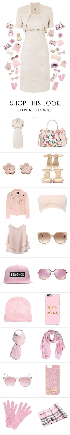 """""""Sweet Outfit"""" by blacktini ❤ liked on Polyvore featuring Eliza J, Betsey Johnson, Giuseppe Zanotti, McQ by Alexander McQueen, M&Co, Chicwish, Tom Ford, Michael Kors, American Vintage and Casetify"""