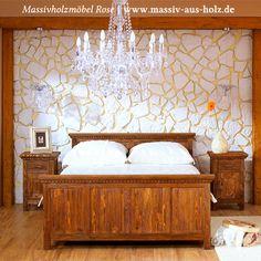 www.massiv-aus-holz.de - Ein rustikales #Holzbett mit #Schubkästen heißt Wohnen mit Esprit, Unikaten und einer Portion guter Stimmung. Ich wünsche Euch viel Spaß beim Stöbern in meinem #Onlineshop.