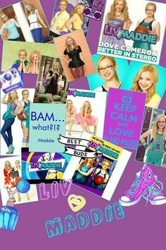 Liv and Maddie poster ❤️
