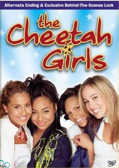Watch The Cheetah Girls Online. The Cheetah Girls the 2003 Movie, Trailers, Videos and more at Yidio. Old Disney Channel Movies, Disney Channel Original, Best Disney Movies, Original Movie, Old Disney Channel Shows, Disney Movie Posters, The Cheetah Girls, Disney Dvd, Disney Girls