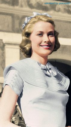Grace Kelly, a real-life Hollywood star turned fairytale princess come true.