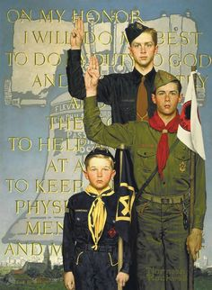 BOY SCOUT CREED
