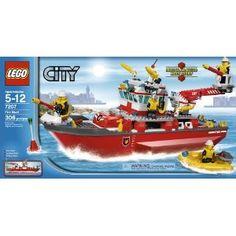 Lego City Truck, Lego City Police, Lego City Fire, Lego Fire, Legos, Lego Boat, Lego City Sets, Lego Ship, Bravest Warriors