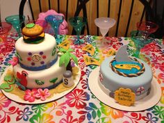 Asked To Make Two Cakes For A Margaritaville Party One Jimmy Buffett