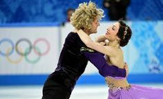 Charlie White (and Meryl Davis) at the 2014 Sochi Olympics #gold