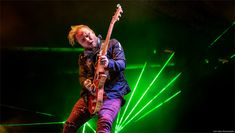 Zach Myers - Shinedown at WJRR's Earthday Birthday 25 / © Lizzy Davis Photography Earth Day Projects, Earth Day Crafts, Powerman 5000, Beatles Gifts, Laser Show, Concept Album, Earth Day Activities, Three Days Grace, The Big Hit
