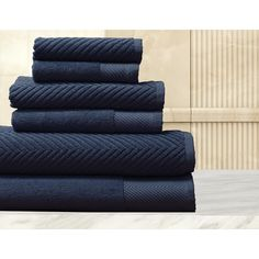 Elegance Spa 100-percent Egyptian Cotton Jacquard 6-piece Towel Set - Overstock™ Shopping - Top Rated Bath Towels