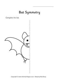 Bat Symmetry Worksheet