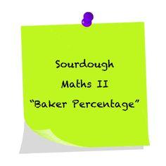 Sourdough Maths II – An Evolving Life