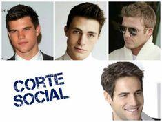 imagens de cortes sociais para homens