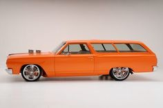 This 65 Chevelle Wagon has enough space for the whole owl family! #clublocal