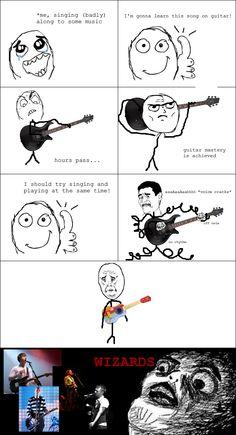 Le Wizards Of Music - View more rage comics at http://leragecomics.com