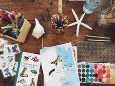 Minimalist Homeschooling // Part II | Salt + Sea | Coastal Bohemian Homeschool Lifestyle Blog
