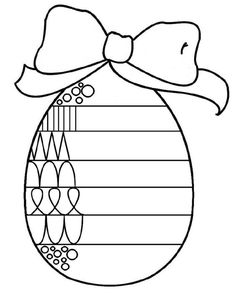 Easter Finish The Pattern Worksheet from Printable Worksheet For Kids category. Find out more cool coloring pages for your child Easter Worksheets, Easter Activities, School Worksheets, Color Activities, Kindergarten Worksheets, Easter Coloring Pages, Colouring Pages, Free Coloring, Easter Art
