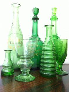Absinthe - Green glass