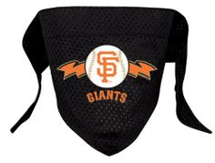 Hunter MFG San Francisco Giants Mesh Dog Bandana, Small - http://www.thepuppy.org/hunter-mfg-san-francisco-giants-mesh-dog-bandana-small/