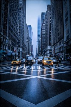 RAINY NEW YORK CITY | by: { Simon Geis }