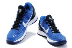 Nike Zoom Kobe Vi White Blue