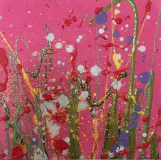Small, Miniature Original Oil Paintings & Art | Yvonne Coomber #flowerart #fineart #flowerartist #valentinesgifts