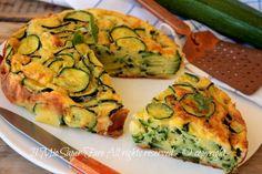 Torta invisibile di zucchine ricetta salata il mio saper fare
