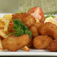 This breaded shrimp recipe has you cook the shrimp in hot oil.   Although it is not the healthiest cooking method, it tastes really yummy and is good in moderation.