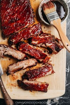 Chinese Beef Recipes, Chinese Bbq Pork, Asian Recipes, Chinese Ribs, Thai Recipes, Chinese Food, Rib Recipes, Cooking Recipes, Cookbook Recipes