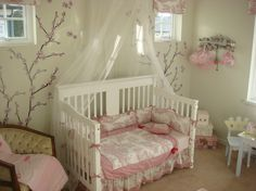 Innovative toile bedding in Kids Eclectic with Daybed Bedding next to Nursery For Twins alongside Cherry Blossom Wallpaper and Baby Girl Room