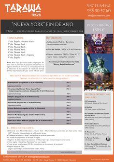 Nueva York: Fin de Año. Días de salida del 26 al 30 Diciembre.7días de viaje desde 1505euros persona ultimo minuto - http://zocotours.com/nueva-york-fin-de-ano-dias-de-salida-del-26-al-30-diciembre-7dias-de-viaje-desde-1505euros-persona-ultimo-minuto/