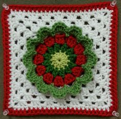 Ravelry: Project Gallery for Sucrette's square pattern by Sucrette