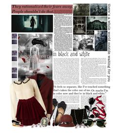 Anna Dressed in Blood by feygirl on Polyvore featuring polyvore fashion style Lipsy Steven Alan Marais USA Nordstrom Avalaya Fantasy Jewelry Box Ray-Ban ANNA Christian Dior Chanel GET LOST Nexus clothing