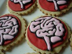 Brain Cookies #Neuroscience #nerd