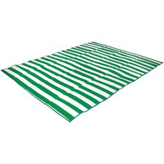 This green striped glamping picnic mat is perfect for glamping, picnics and the beach. Glamping Girl has the best selection of Glamping Accessories & Gear. $28