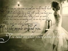 "Nicole Kidman's character from ""Practical Magic"" on the truth about love. :) One of my favorite quotes from the movie."